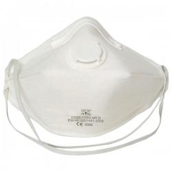Masque pliable avec soupape FFP2 boîte de 20
