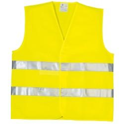 Gilet de signalisation YARD double ceinture taille XL jaune