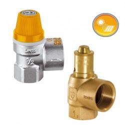 Soupapes de sécurité haute température SHT15C et SHT20G