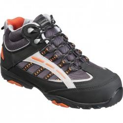 Chaussures de sécurité hautes S1P HILLITE noires