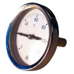Thermomètre avec plongeur Longueur 45mm