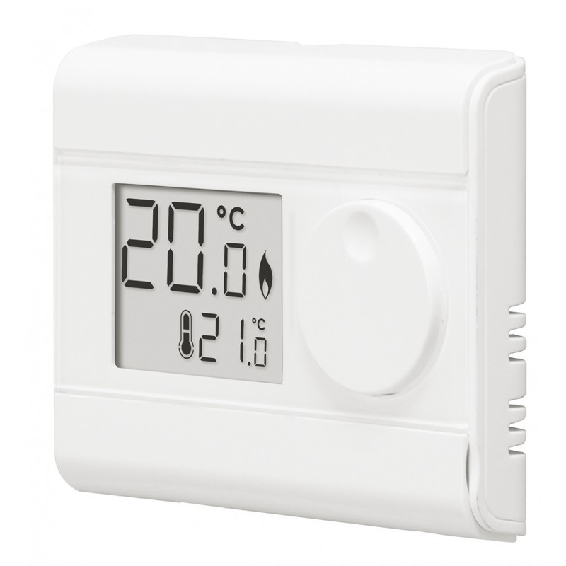 thermostat d 39 ambiance simple digital filaire piles. Black Bedroom Furniture Sets. Home Design Ideas