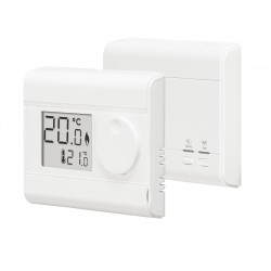 Thermostat d'ambiance simple digital onde radio