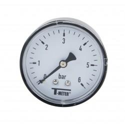 Manomètre axial boîtier ABS Ø63