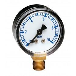 Manomètre radial boîtier ABS Ø50