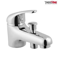 Mitigeur chromé bain douche monotrou THEWA AGA32