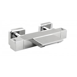 Mitigeur bain douche thermostatique chromé THEWA NPL55