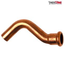 Raccord cuivre à sertir clarinette 6086 MF