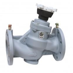 Vanne d'équilibrage pour circuit hydraulique fonte à brides