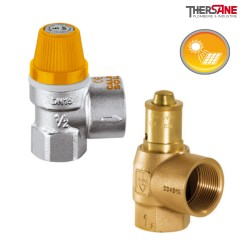Soupapes de sécurité haute température série SHT15C et SHT20G