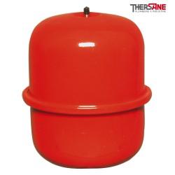 Vase d'expansion fermé cylindrique standard suspendus capacité 4 à 25 litres