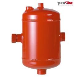Pot de décantation acier pour installations domestiques avec déflecteur