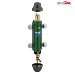 Séparateurs hydrauliques multifonctions à raccords union