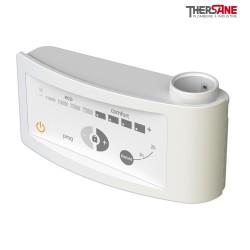 Kit mixte pour sèche-serviettes standard boîtier digital blanc