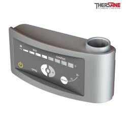 Kit mixte pour sèche-serviettes standard boîtier digital gris