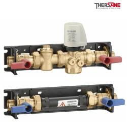 Module CIC avec vanne de zone et d'équilibrage indépendante de la pression pré équipé pour le comptage