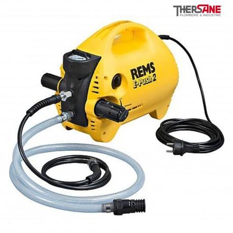 Pompe d'épreuve REMS E-Push 2 électrique