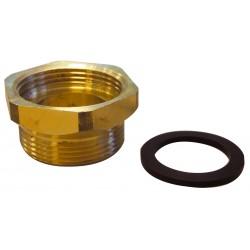 Rallonge laiton 20 mm Kit E pour circulateur avec joint M/F à visser