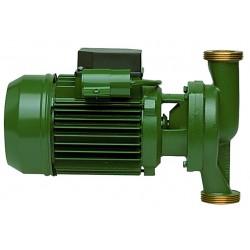 Circulateur à garniture mécanique et moteur ventilé à unions monophasé ou triphasé
