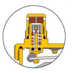 Bouchon hygroscopique seul pour purge automatique