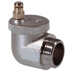 Purgeur radiateur automatique laiton chromé AERCAL