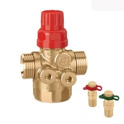 Vanne régulation et équilibrage automatique avec vannes de pression