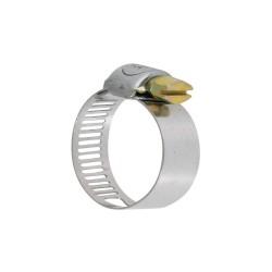 collier de serrage - bande perforée - acier zingué - inox