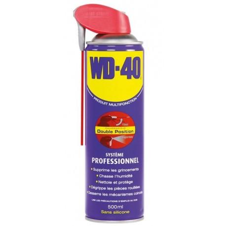 Dégrippant lubrifiant - Valve grande surface - WD 40