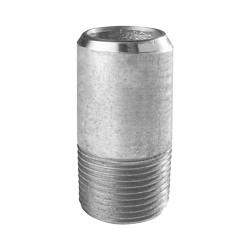 Demi mamelon bobine 100mm en acier T3 sans soudure Mâle type 530 AT