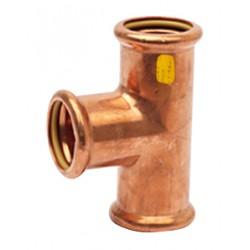 Raccord Té égal cuivre à sertir femelle spécial gaz et GPL