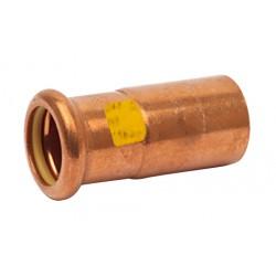 Raccord réduction cuivre à sertir mâle femelle spécial gaz et GPL