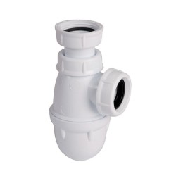 Siphon lavabo ou bidet à culot