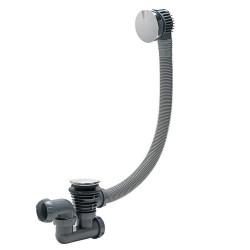 Vidage baignoire à câble