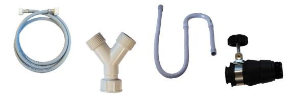 Flexibles pour machine à laver et accessoires