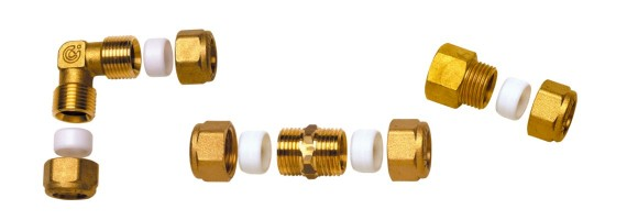 Raccords C+ standard pour tube cuivre