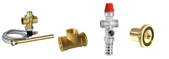 Soupapes de sûreté thermiques